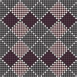 Seamless embroidered handmade ethnic pattern Royalty Free Stock Photography