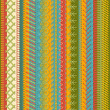Seamless embroidery pattern. Stock Photos
