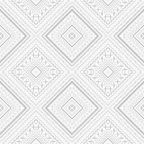 Seamless embroidery pattern. Royalty Free Stock Images