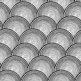 Seamless engraving pattern Royalty Free Stock Image