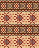 Seamless ethic Georgian pattern. For background, textile Royalty Free Stock Image