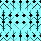 Seamless ethic pattern . Abstract background in bright colors. Vector illustration. A good choice for the background decoration, website, flyers, brochures and Stock Photos