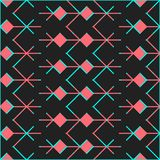 Seamless ethic pattern . Abstract background in bright colors. Vector illustration. A good choice for the background decoration, website, flyers, brochures and Stock Images