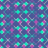Seamless ethic pattern . Abstract background in bright colors. Vector illustration. A good choice for the background decoration, website, flyers, brochures and Royalty Free Stock Image