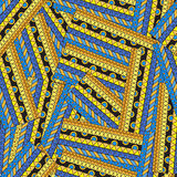 Seamless ethnic abstract pattern Stock Photo