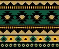 Seamless ethnic aztec pattern design. Illustration Royalty Free Stock Photos