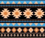 Seamless ethnic aztec pattern design. royalty free illustration