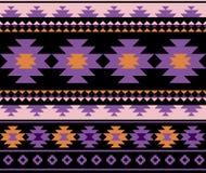 Seamless ethnic aztec pattern design. vector illustration