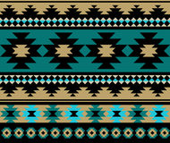 Seamless ethnic aztec pattern design. Stock Photography