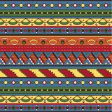 Seamless ethnic background Royalty Free Stock Image