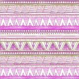 Seamless ethnic background. Geometric bright pattern. Royalty Free Stock Image