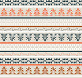 Seamless Ethnic Elements Pattern Stock Images