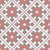 Seamless ethnic embroidered pattern Royalty Free Stock Photography