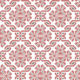 Seamless ethnic embroidery pattern Stock Photo