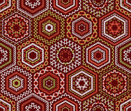 Seamless ethnic embroidery pattern. Stock Photo