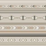 Seamless ethnic folk ornamental pattern . Vector background Stock Photography