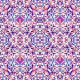 Seamless ethnic ikat pattern Stock Photography