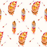 Seamless ethnic Indian pattern. Stock Images