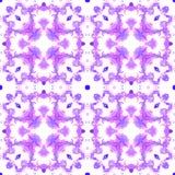 Seamless ethnic kaleidoscope pattern. Royalty Free Stock Image