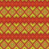 Seamless ethnic motif pattern Royalty Free Stock Images