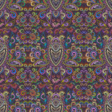 Seamless ethnic multicolor pattern . Vector background. Stock Photography