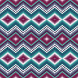 Seamless ethnic ornament  Zigzag Stock Photography