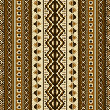 Seamless ethnic pattern Stock Photography
