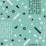Seamless ethnic pattern. Aztec abstract geometric art print. Tri Stock Images