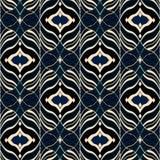 Seamless ethnic pattern black background. Colorful background royalty free illustration