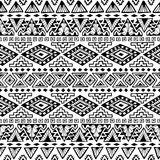 Seamless ethnic pattern. Black and white vector. Seamless ethnic pattern. Black and white vector illustration Vector Illustration