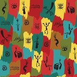 Seamless ethnic pattern Stock Photo