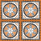 Seamless ethnic pattern. Decorative ornament for fabric, textile Royalty Free Stock Images