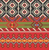 Seamless ethnic pattern. Decorative ornament for fabric, textile Stock Photography