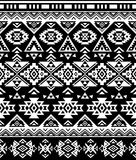Seamless Ethnic pattern design. Navajo geometric print. Rustic decorative ornament. Abstract geometric pattern. Native American pattern. Ornament for the Royalty Free Stock Image