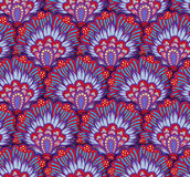 Seamless ethnic pattern with floral motives. Mandala stylized print template for fabric and paper. Boho chic design Stock Photo