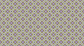Seamless ethnic pattern with geometric flowers. Texture Royalty Free Stock Photography