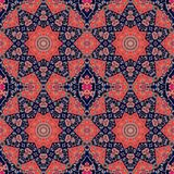 Seamless ethnic pattern in indian style.  Stock Photo