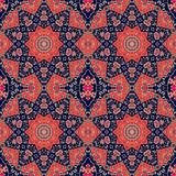 Seamless ethnic pattern in indian style. Oriental background Royalty Free Stock Image
