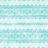 Seamless ethnic pattern. Lovely geometric designs painted by han Stock Photos