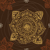 Seamless ethnic pattern Stock Image