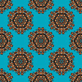 Seamless Ethnic Pattern Royalty Free Stock Photo