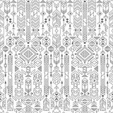 Seamless ethnic pattern Royalty Free Stock Photos