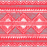 Seamless ethnic pattern. Ornament in tribal style. Grunge textur Royalty Free Stock Photos