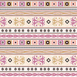 Seamless ethnic pattern texture , on bright background. Royalty Free Stock Photography