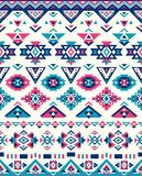 Seamless Ethnic pattern textures. Abstract Navajo geometric print. Pink and Blue colors. Seamless Ethnic pattern textures. Abstract Navajo geometric print Stock Photography