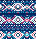 Seamless Ethnic pattern textures. Native American pattern. Pink and Blue colors. Seamless Ethnic pattern textures. Abstract Navajo geometric print. Rustic vector illustration
