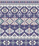 Seamless Ethnic pattern textures. Purple & Yellow colors. Navajo geometric print. Rustic decorative ornament. Abstract geometric pattern. Native American Vector Illustration