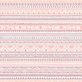 Seamless ethnic pattern. Tribal and aztec motifs. Striped Royalty Free Stock Photo