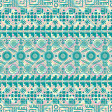 Seamless ethnic pattern. Tribal-vector illustration. The art of the Aztec, Mexican and Peruvian print. Rhombuses squares texture Royalty Free Stock Photos