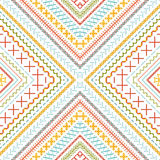 Seamless ethnic pattern. Royalty Free Stock Image